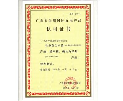 广东省采用国际标准产品-20571